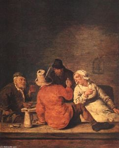 Jan Miense Molenaer - Peasants in the Tavern