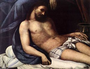 Sebastiano Del Piombo - Lamentation of Christ (de..