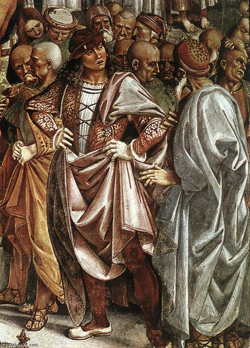 Sermon and Deeds of the Antichrist (detail), Frescoes by Luca Signorelli (1450-1523, Italy)