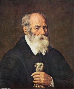 Marcantonio Bassetti - Portrait of an Old Man wi..