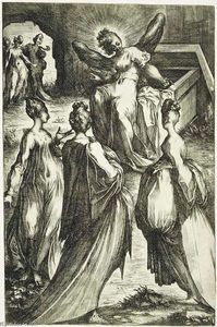 Jacques Bellange - The Three Marys at the To..