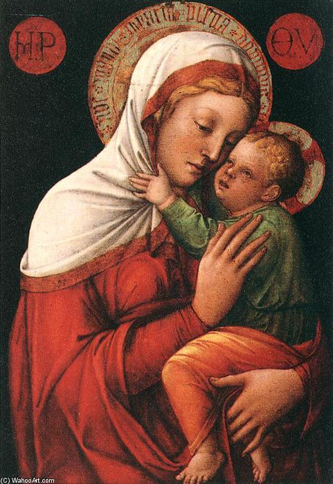 Buy Museum Art Reproductions | Madonna with Child, 1465 by Jacopo Bellini (1396-1470, Italy) | ArtsDot.com