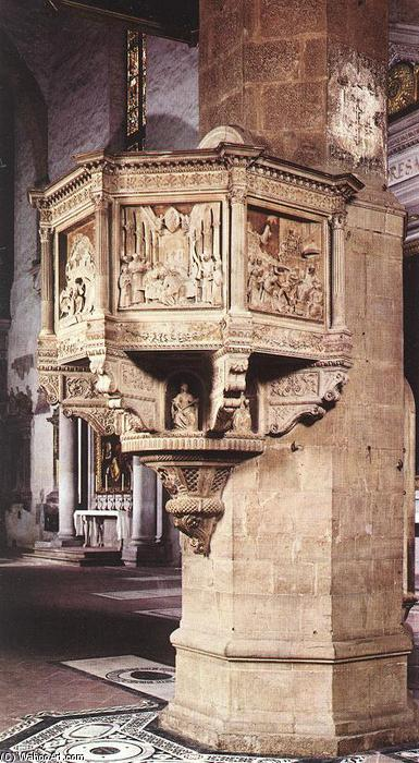 Pulpit, 1472 by Benedetto Da Maiano (1446-1497, Italy) | Oil Painting | ArtsDot.com