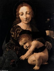 Giovanni Antonio Boltraff.. - Virgin and Child with a F..
