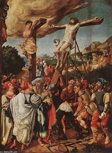 Jörg The Elder Breu - Crucifixion