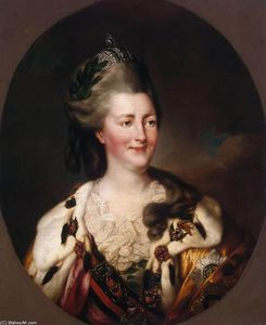 Richard Brompton - Portrait of Catherine II