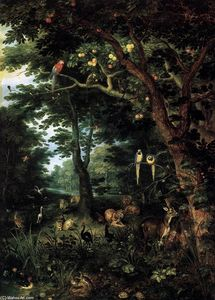 Jan The Younger Brueghel - Paradise