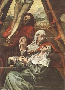 Pedro De Campaña - Descent from the Cross (d..