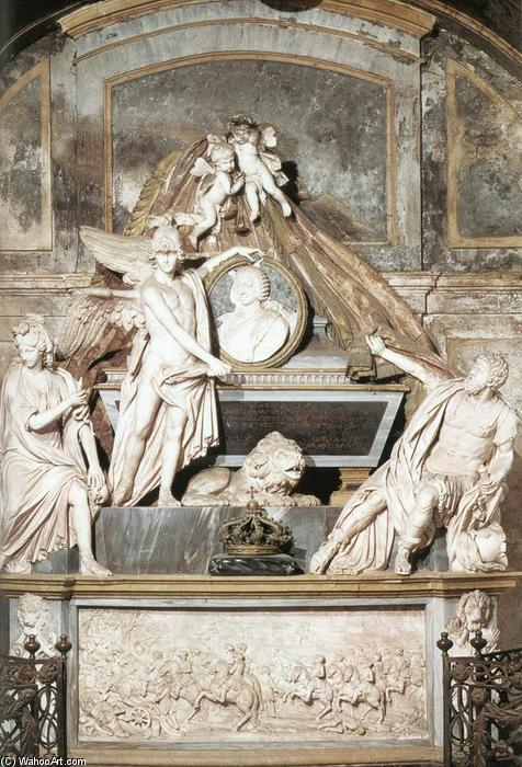 Order Museum Quality Copies | Tomb of Carlo Emanuele III, 1788 by Filippo Collino (1737-1801, Italy) | ArtsDot.com