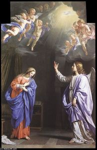 Philippe De Champaigne - The Annunciation