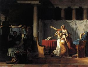 Jacques Louis David - The Lictors Returning to ..