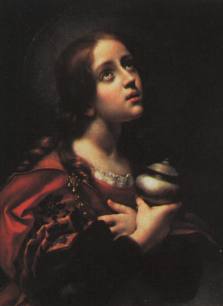 Magdalene, Oil On Canvas by Carlo Dolci (1616-1686, Italy)