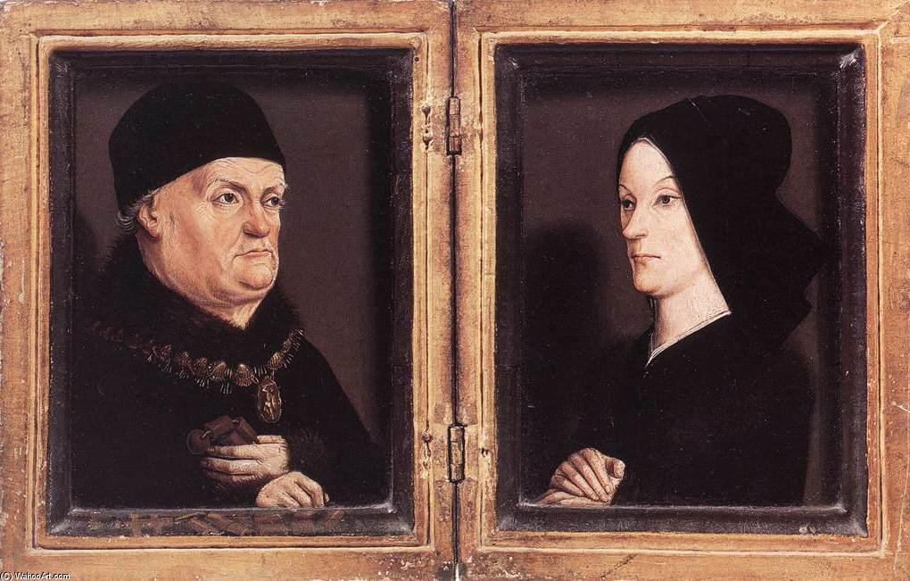 Matheron Diptych, Oil by Nicolas Froment (1430-1484, France)