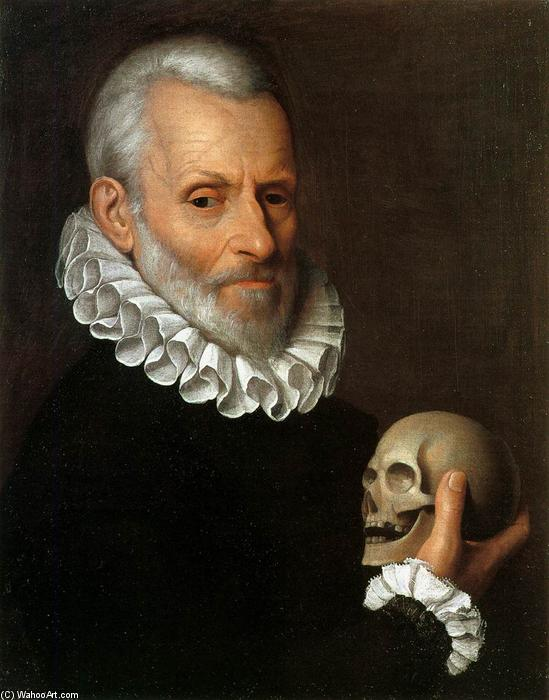 Portrait of a Physician, Oil On Canvas by Fede Galizia (1578-1630, Italy)