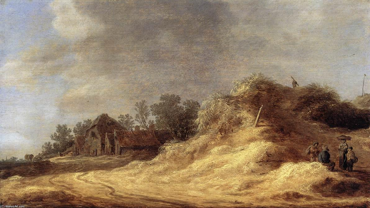Dunes, 1629 by Jan Van Goyen (1596-1656, Netherlands) | Paintings Reproductions Jan Van Goyen | ArtsDot.com