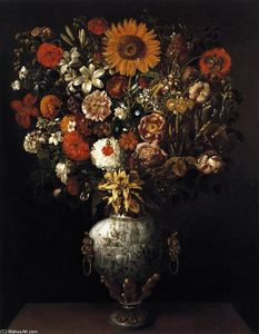 Tomàs Yepes - Vase of Flowers