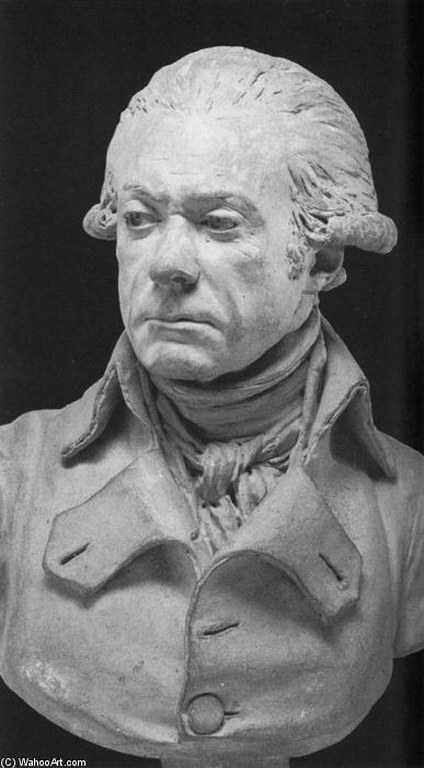 General Dumouriez, Terracotta by Jean Antoine Houdon (1741-1828, France)