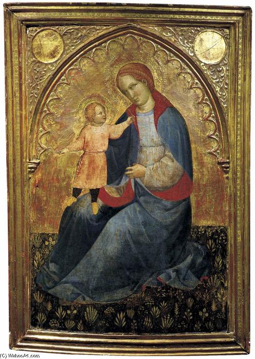 Madonna and Child by Jacobello Del Fiore (1370-1439, Italy) | Oil Painting | ArtsDot.com