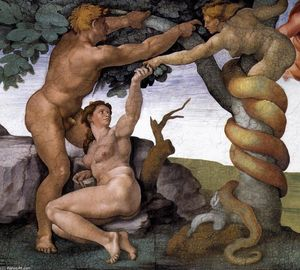 Michelangelo Buonarroti - The Fall