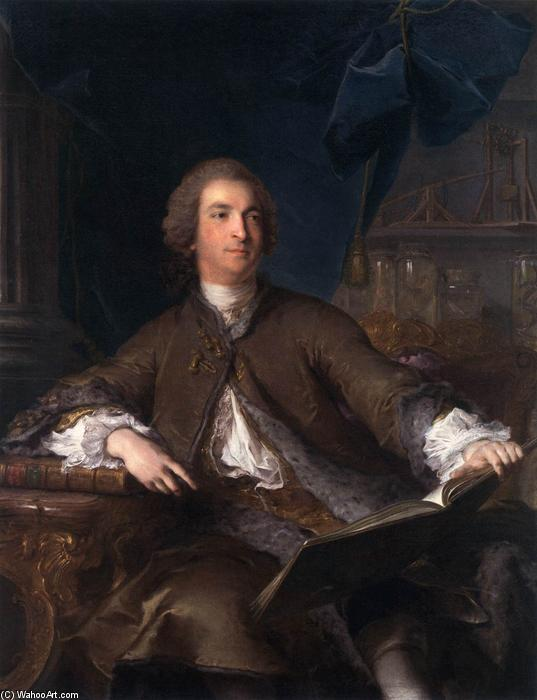 Joseph Bonnier de la Mosson, 1745 by Jean-Marc Nattier (1685-1766, France) | Reproductions Jean-Marc Nattier | ArtsDot.com
