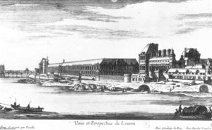 Gabriel Pérelle - View and Perspective of the Louvre