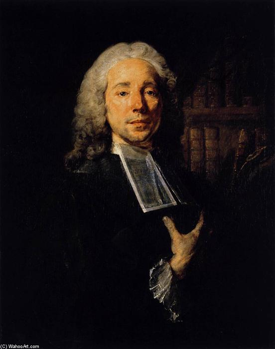 Portrait of the Lawyer Daniel Jousse, 1765 by Jean Baptiste Perronneau (1715-1783, Netherlands) | ArtsDot.com