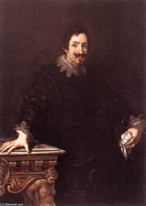 Marcello Sacchetti, Oil On Canvas by Pietro Da Cortona (1596-1669, Italy)