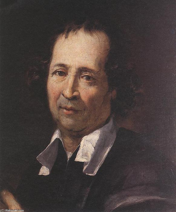 Self-portrait, Oil On Canvas by Pierre Puget (1620-1694, France)