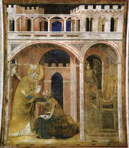 Simone Martini - Miracle of Fire (scene 8)