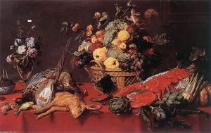 Frans Snyders - Still-Life with a Basket ..