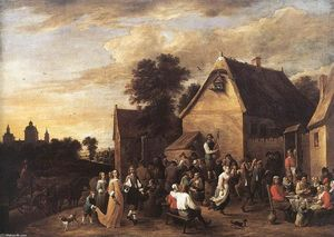David The Younger Teniers - Flemish Kermess