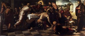 Tintoretto (Jacopo Comin) - Last Supper