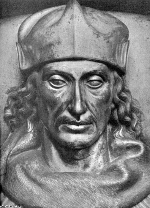 Monument to Henry VII (detail), Bronze by Pietro Torrigiano (1472-1528, Italy)