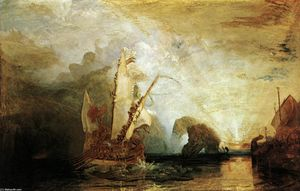 William Turner - Ulysses Deriding Polyphemus