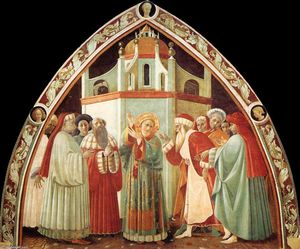 Paolo Uccello - Disputation of St Stephen