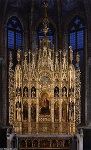 Antonio Vivarini - Polyptych of the Virgin
