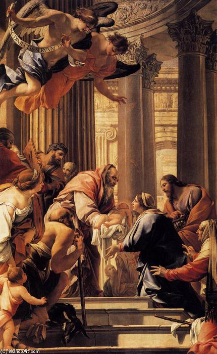 Presentation in the Temple, 1640 by Simon Vouet (1590-1649, France) | Museum Quality Reproductions | ArtsDot.com
