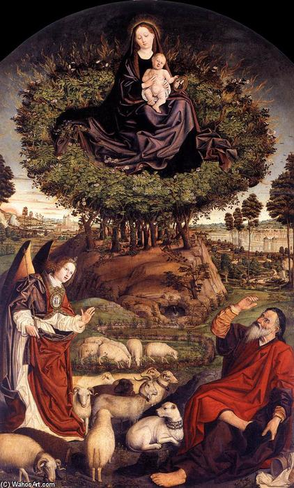 The Burning Bush, Wood by Nicolas Froment (1430-1484, France)