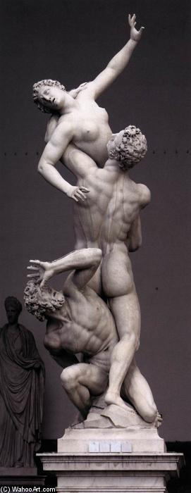 Rape of the Sabines (12), Marble by Giambologna (1529-1608, France)