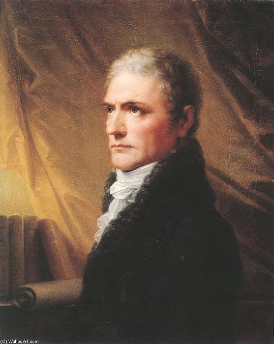 Portrait of János Batsányi, Oil On Canvas by Friedrich Heinrich Füger (1751-1818, Germany)