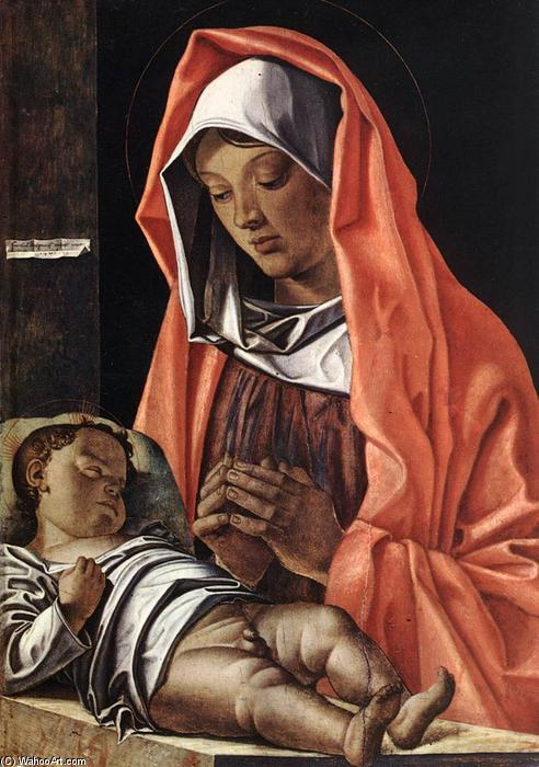 Virgin with Child by Francesco Bonsignori (1460-1519, Italy) | Museum Quality Reproductions | ArtsDot.com