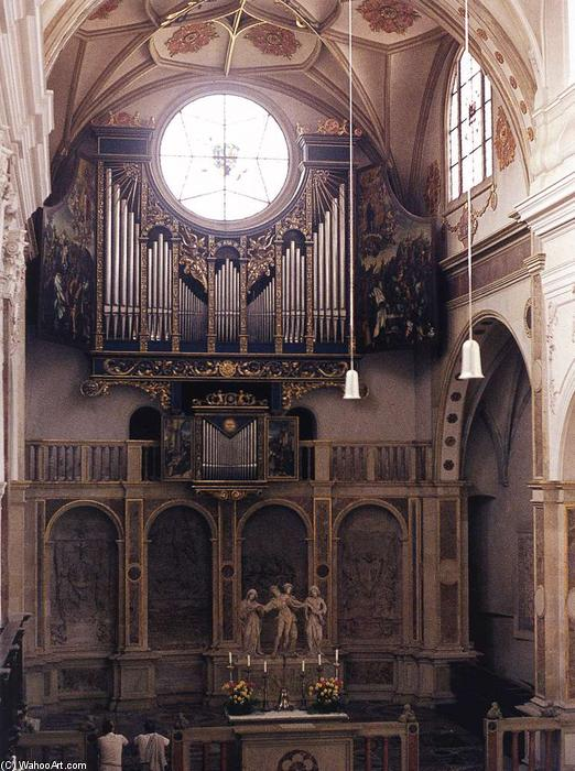 Fugger Chapel, 1509 by Jörg The Elder Breu (1475-1537, Germany)