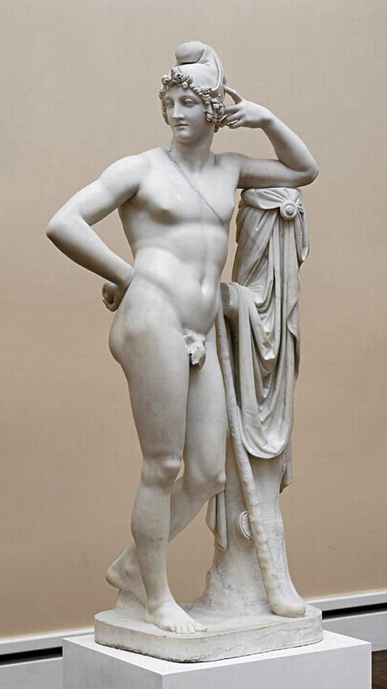 Paris, Marble by Antonio Canova (1757-1822, Italy)