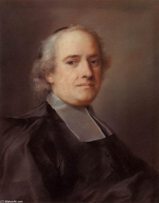Portrait of the French Consul Le Blond, Pastel by Rosalba Carriera (1675-1757, Italy)