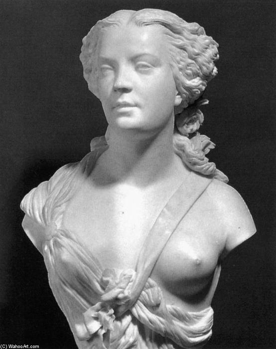 Madame Sabatier, Marble by Auguste Clésinger (1814-1883, France)