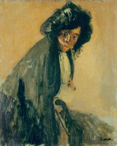 Walter Richard Sickert - La Giuseppina Leaning against a Chaise-longue