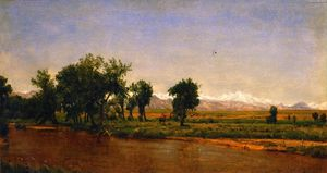 Thomas Worthington Whittredge - Longs Peak from Denver