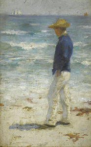 Henry Scott Tuke - Looking Out To Sea