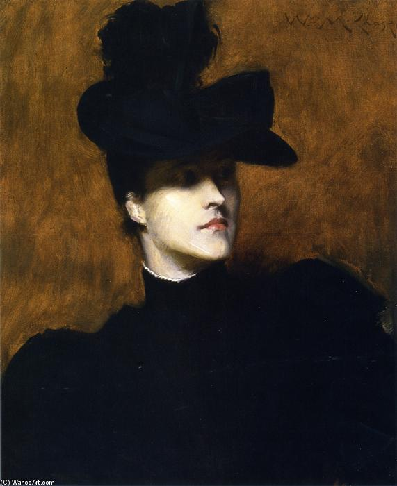 Lydia Field Emmet, Oil On Canvas by William Merritt Chase (1849-1916, United States)