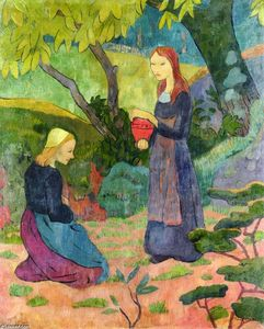 Paul Serusier - Madeline with the Offerin..